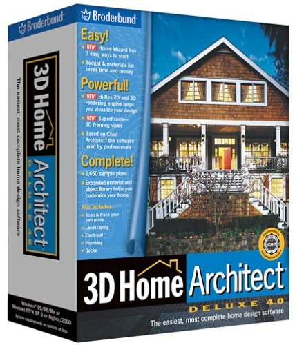 Home &Garden Design: 3D Home Architect Deluxe 4.0 [OLD