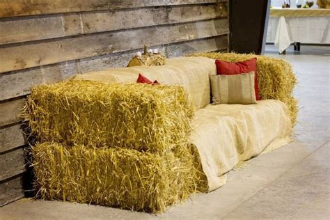 Hay Bale Couch Farrar Hill Farms www.farrarhillfarms.com