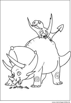 dinosaurier zum ausdrucken - ausmalbilder