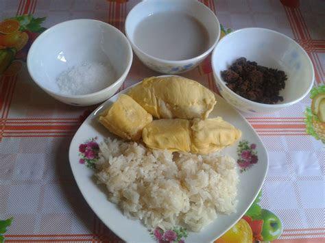 resepi pulut durian  sedap azhanco