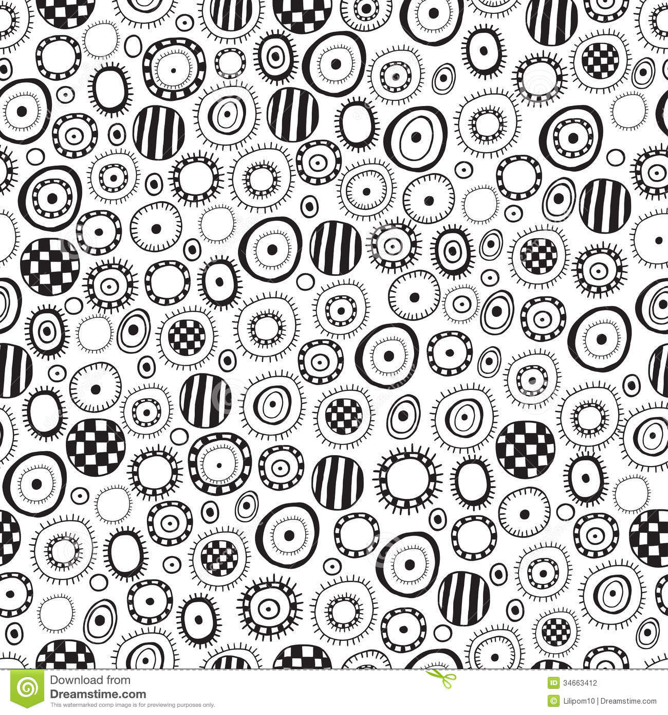 16 Black And White Abstract Designs Images Black And White