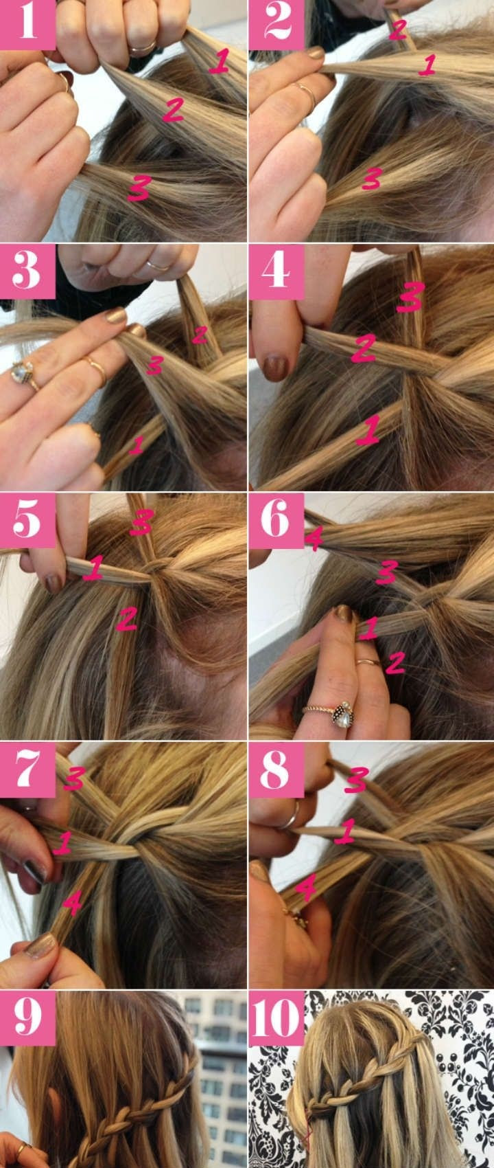 Hairstyles For Long Hair Braids Steps PictureFuneral Program Designs