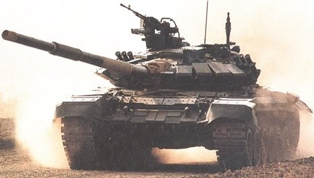 Russian T-90 Main Battle Tank