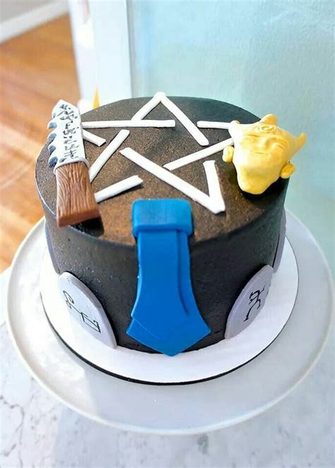 36 best images about Supernatural Cakes/cookies on Pinterest