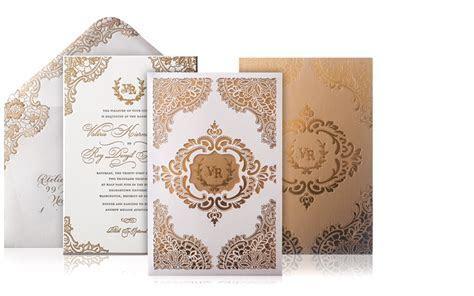 Valerie and Roy   Luxury Wedding Invitations : Custom
