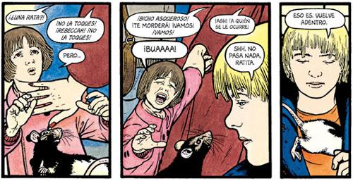 Komic Librería: El cuento de una rata mala