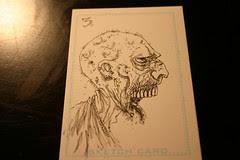 Zombie card 3 inks