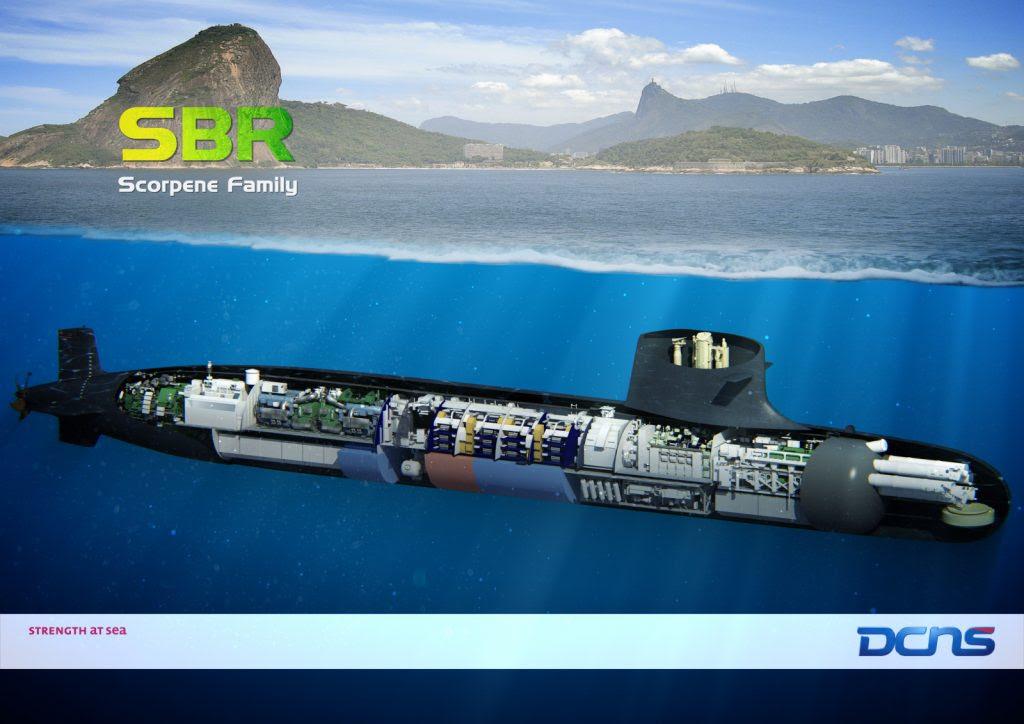 O Brasil está construindo atualmente quatro submarinos S-BR dentro do Programa Prosub