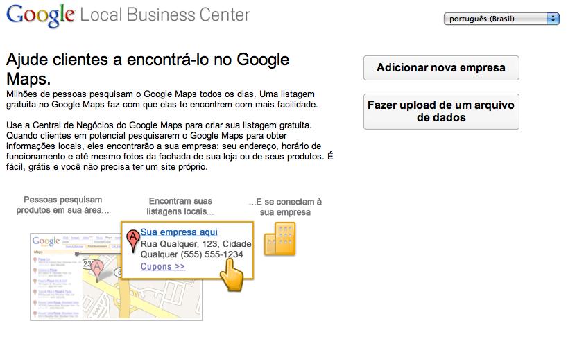 Google Business Center