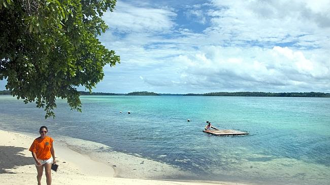 Water views from Zipolo Habu Resort on Lola Island. Picture: David May