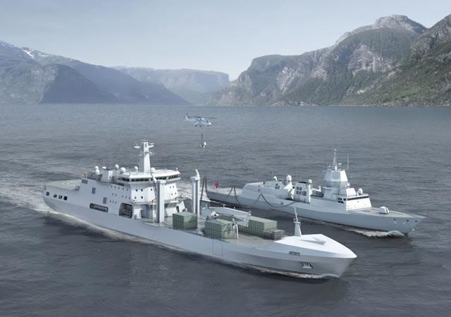 DSME recibió un pedido de un buque de apoyo de combate de la Organización Logística de Defensa de Noruega. El valor de este contrato es de aproximadamente 230 millones de dólares. El buque de guerra está programado para ser entregado a la Armada de Noruega en septiembre de 2016.