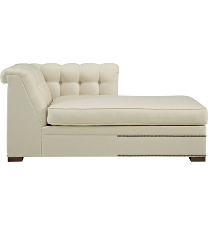 Kent Tufted Right-Arm Facing Chaise from the 1911 Collection