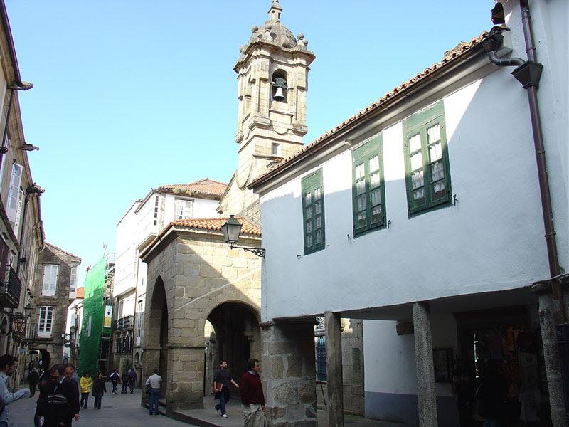 En la fachada se advierte el realce arquitectónico llevado a término en el siglo XVIII.