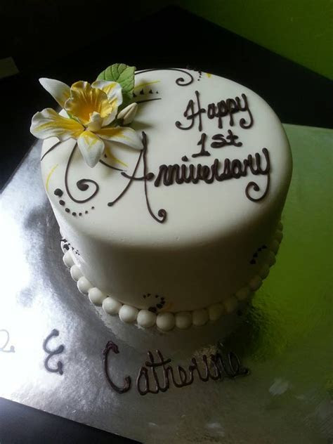 17 Best images about Anniversary Cakes on Pinterest   Dark