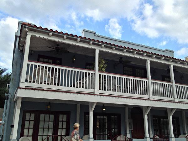 Balconies of the Coach House at the Casablanca Inn