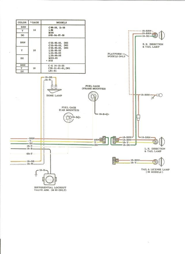 Ford Tail Light Wiring Diagram For Dummy