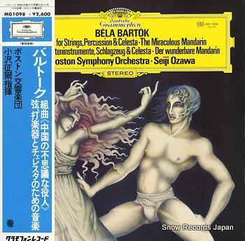 SEIJI, OZAWA bartok; music for strings, percussion & celesta / the miraculous mandarin