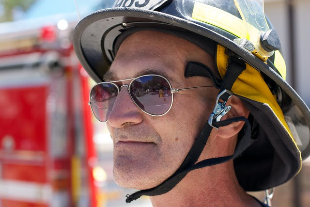Firefighter Clint