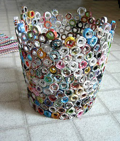 Recycled Mags Waste Paper Baskets