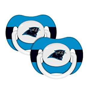 NFL Carolina Panthers Baby Fanatic Pacifiers