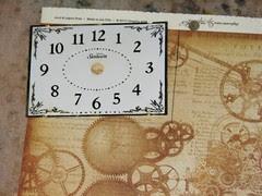 Alarm Clock Steampunk Collage 005