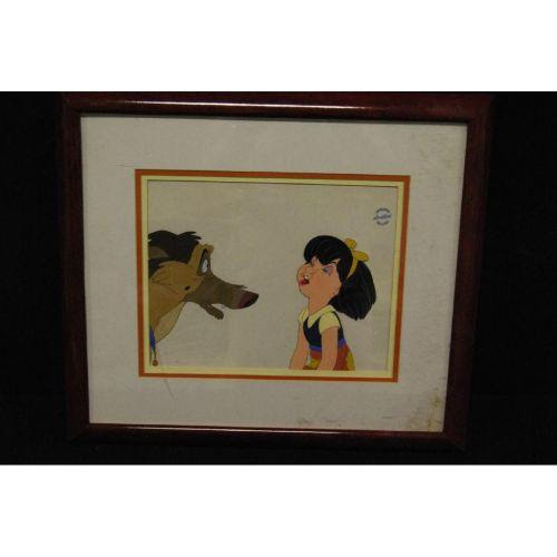 All Dogs Go To Heaven Original Production Cel
