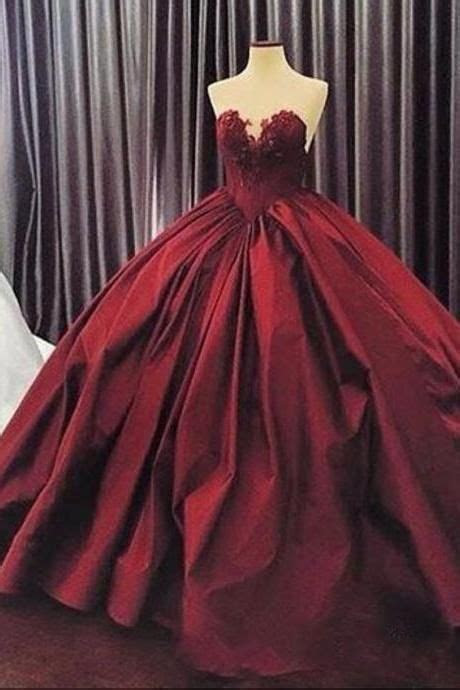 Burgundy Quinceanera Dresses 2017, Puffy Ball Gown Lace
