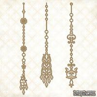 Чипборд Blue Fern Studios - Jeweled Page Dangles - ScrapUA.com