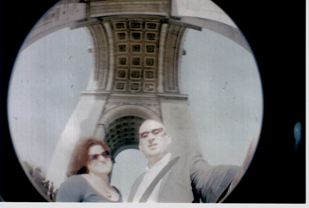 Paris France lomo
