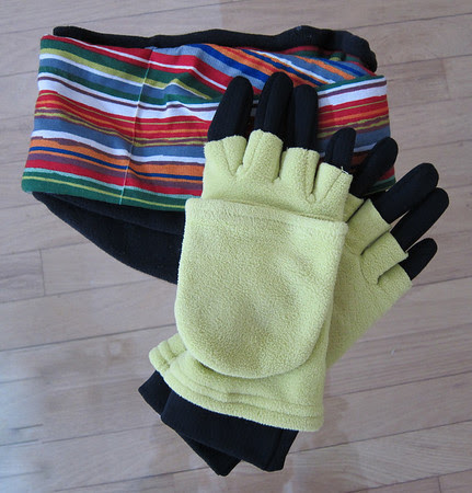 layers, buff & double gloves