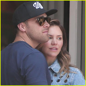 Katharine McPhee Cozies Up to New Boyfriend Nick Harborne in WeHo!