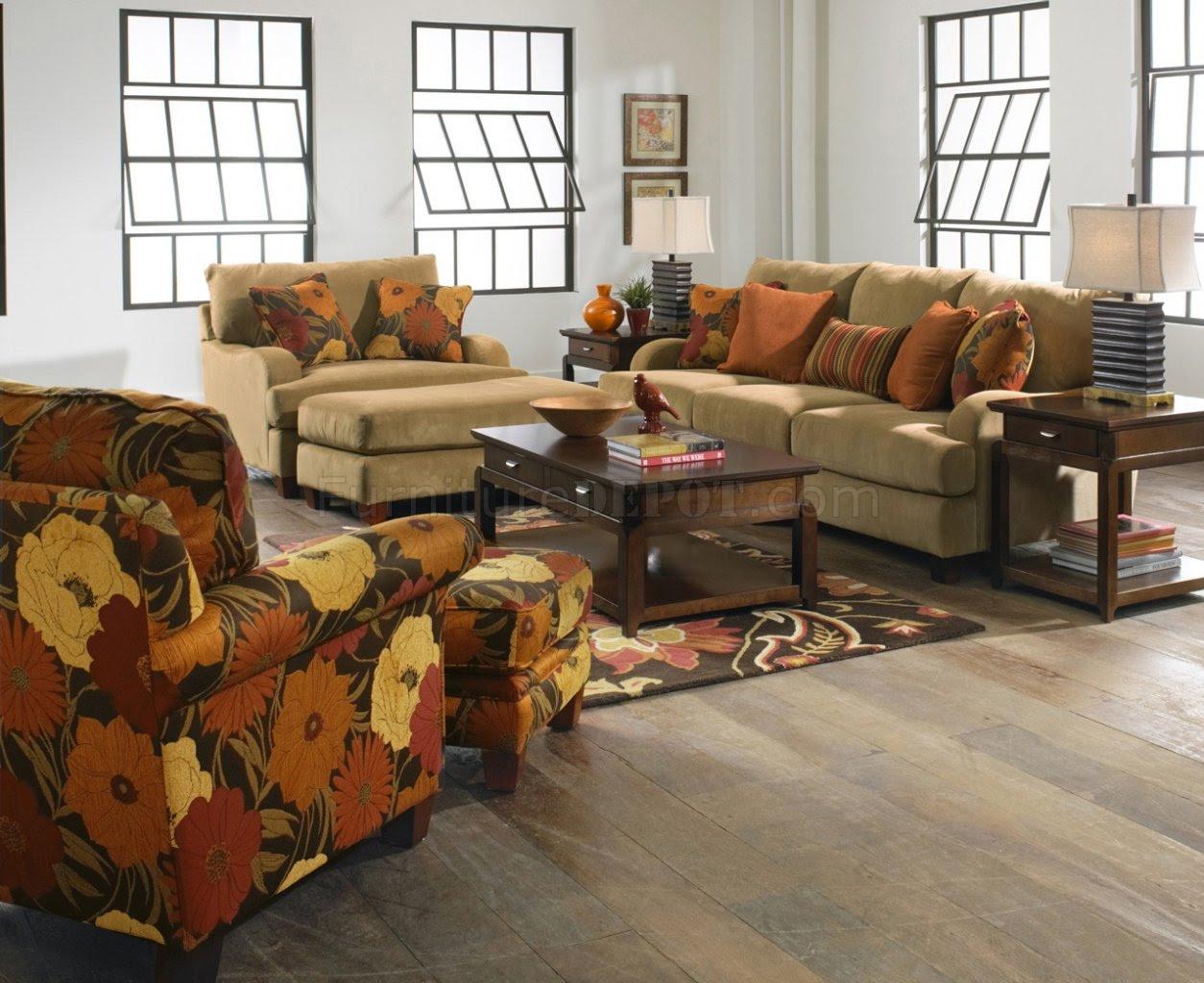 Jackson Furniture Nugget Fabric Hartwell Sofa & Loveseat Set
