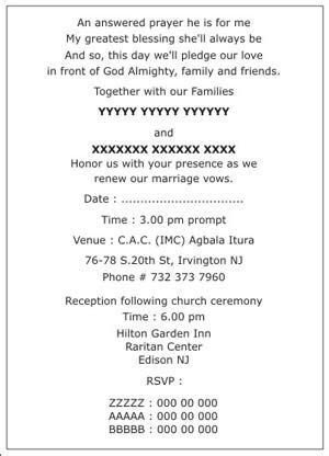 religious wedding invitation wording samples   Christian