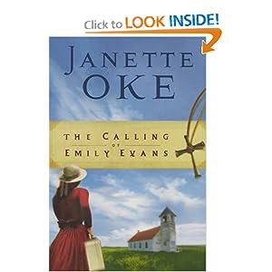 Amazon linked image - http://www.amazon.com/Calling-Emily-Evans-Women-West/dp/0764202448/ref=sr_1_1?s=books&ie=UTF8&qid=1371601331&sr=1-1&keywords=the+calling+of+emily+evans