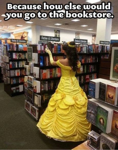 i need to get like a group together to all dress up as Disney princesses and walk around and pretend its a normal thing