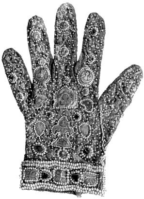beaded glove of the Emperor Frederick II