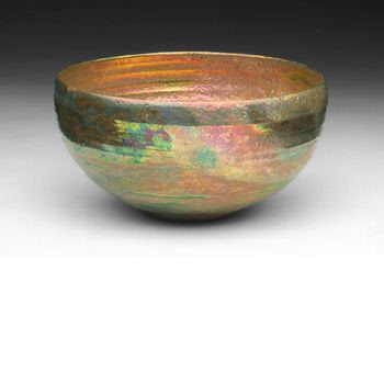 Bowl Date: 1948-1950   Artist: Beatrice Wood   Media: luster-glazed earthenware