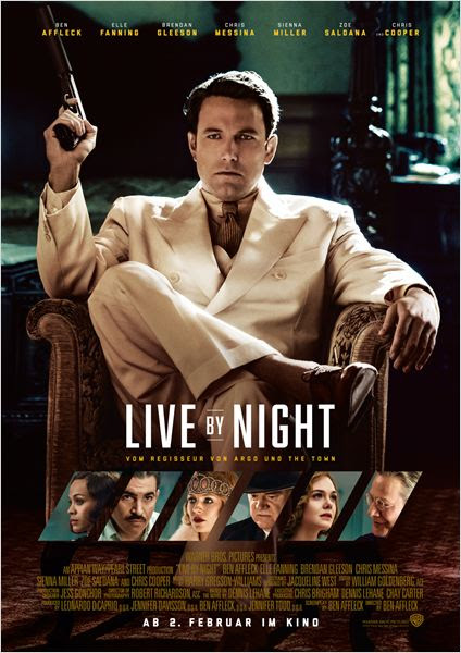 Live By Night : Kinoposter