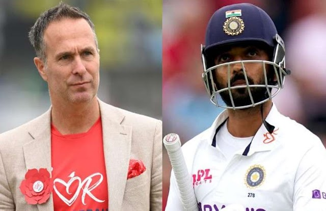 IND vs ENG : माइकल वान ने अजिंक्य रहाणे पर साधा निशाना, बोले-'भारतीय टीम को बदलाव करना चाहिए'