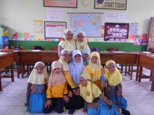 Suasana Kelas III SDI As-Salam (2012)
