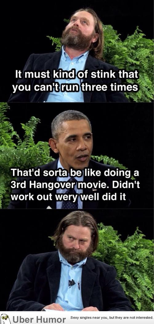 Obama Hangover 3 Zinger Funny Pictures Quotes Pics Photos