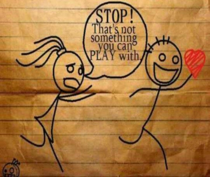 My Heart Is Not A Game Quotes