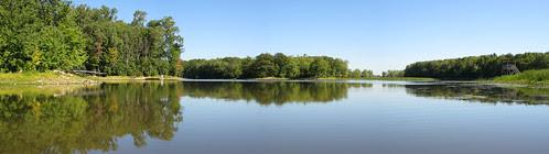 Parc de la Riviere-des-Mille-Îles, 11 September 11, view east from the marsh