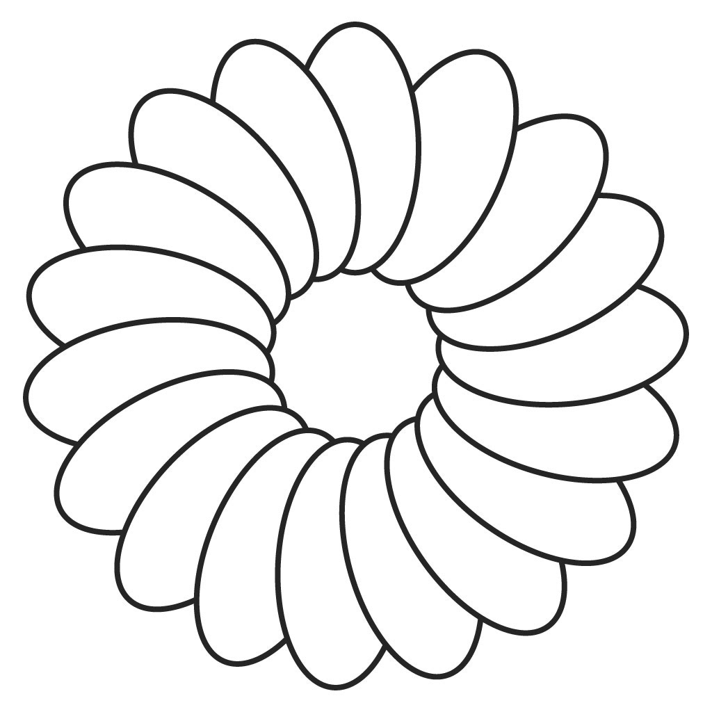 Simple Flower Images Drawing With Colour Beauty Decor