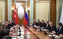 Встреча сПрезидентом Турции Реджепом Тайипом Эрдоганом.