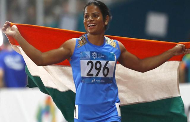 दुती चंद ने इंडियन ग्रां प्री में नेशनल रिकॉर्ड के साथ इंडिया-ए को दिलाया गोल्ड