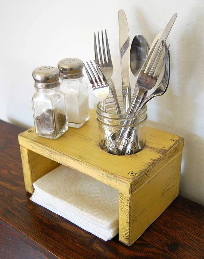 Kitchen table organizer