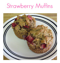 MEAL ICON strawberry muffins