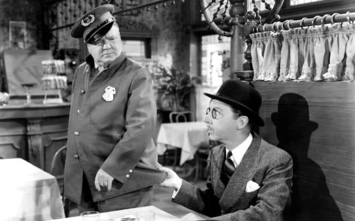 WC Fields and  J. Pinkerton Snoopington