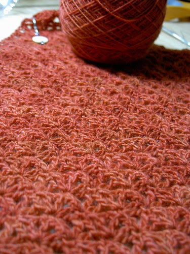 Malabrigo lace scarf